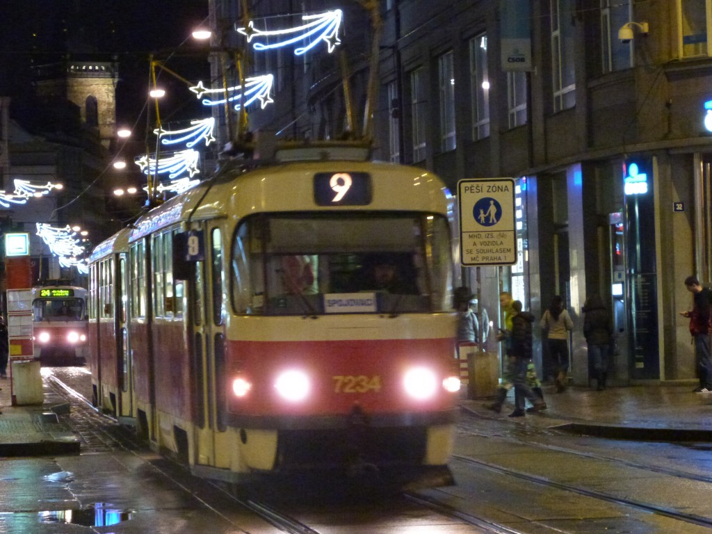 Tranvía en Praga