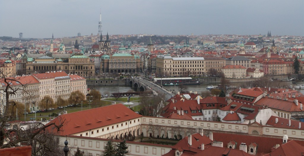 Vistas desde el Castillo de Praga