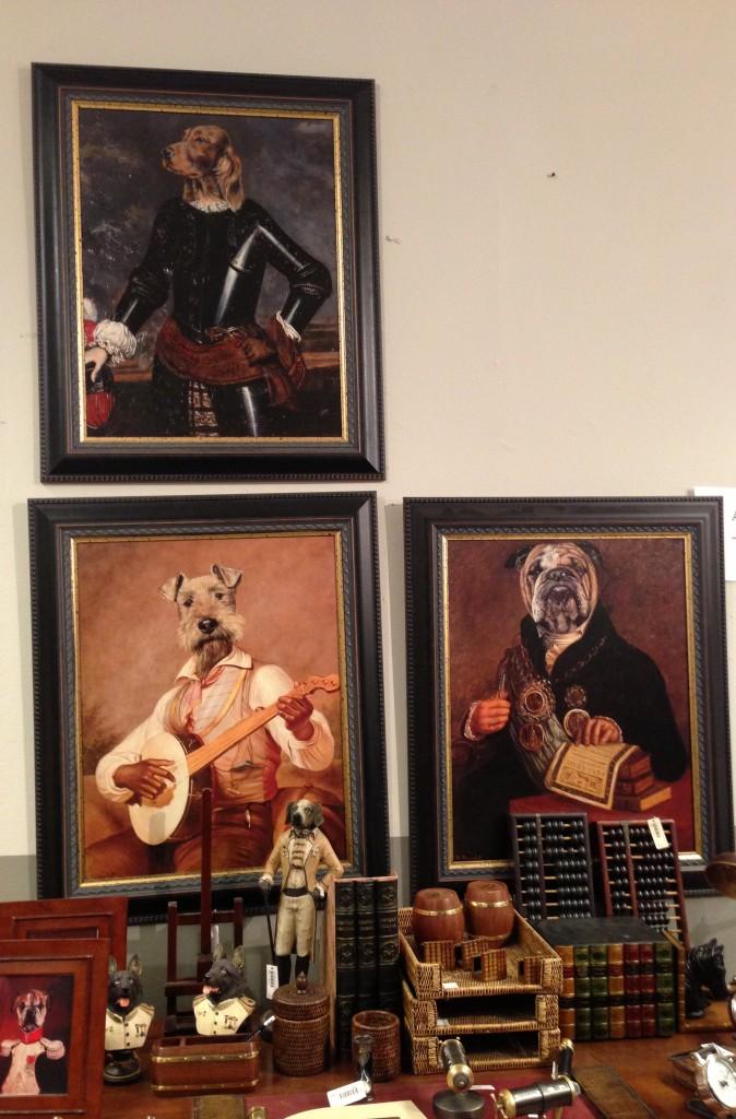 Cuadros de perros en Salzburgo