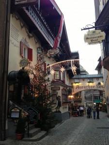 Una calle cualquiera en Kufstein
