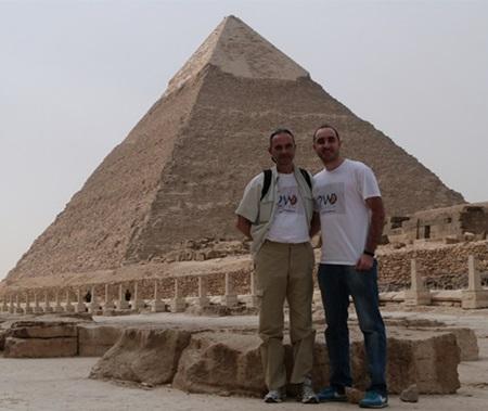 21W en las Piramides de Guiza