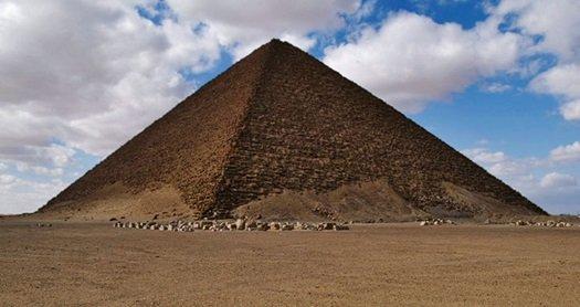 Pirámide en Dashur