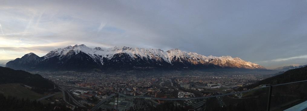 Los Alpes desde Bergisel