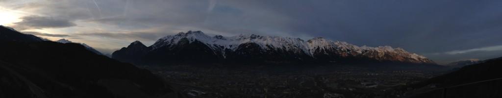 Panorámica de Innsbruck desde Bergisel