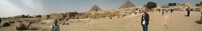 Panoramica de las Piramides