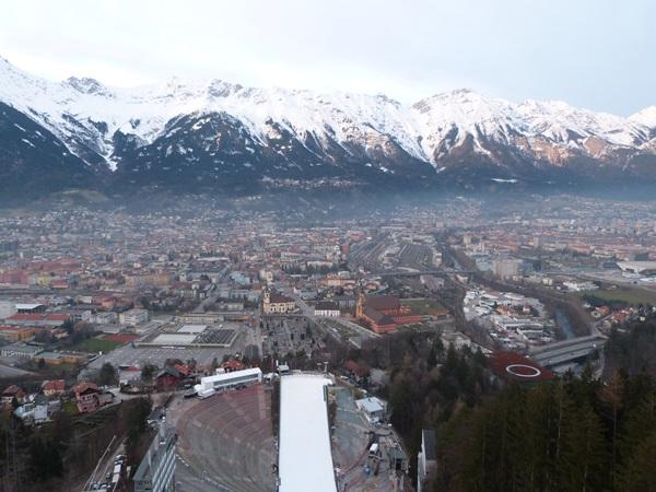 Vistas desde Bergisel