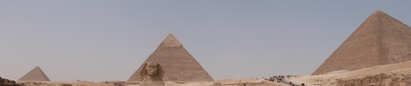 Panorámica de las Pirámides de Guiza