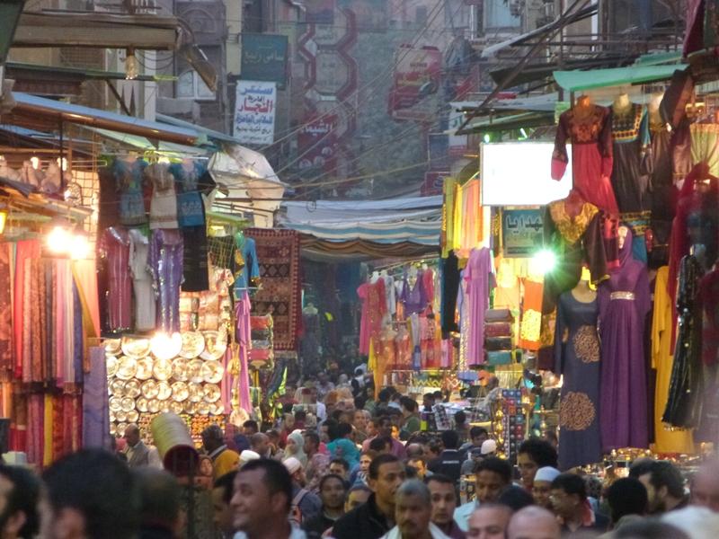 Bazar Khan Al Khalili de El Cairo