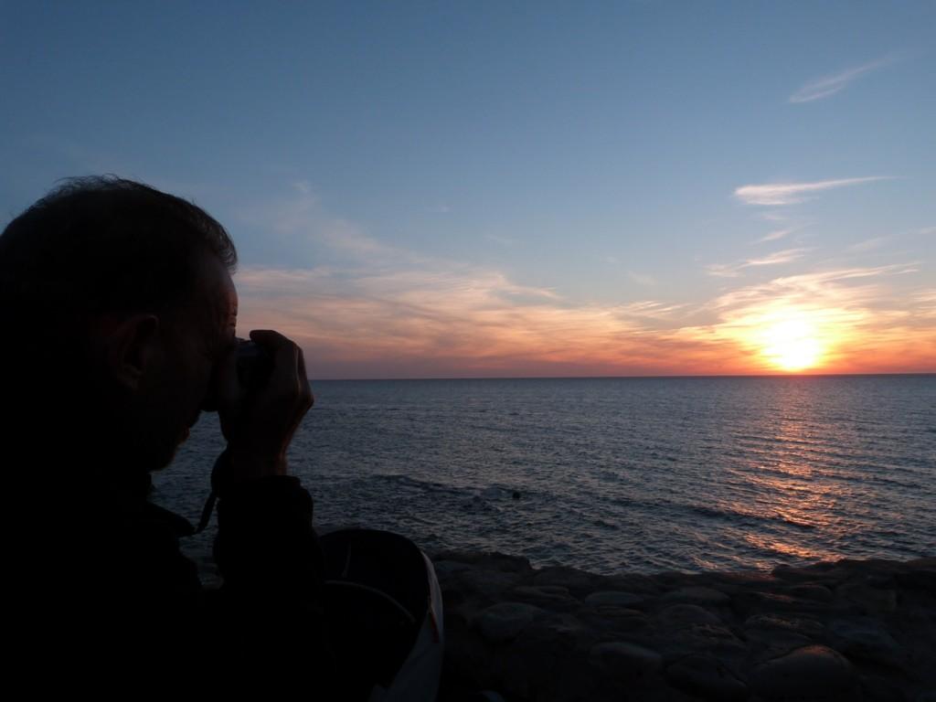 Fotografiando la puesta de sol en Asilah