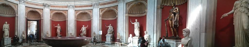 Interior del Museo Vaticano