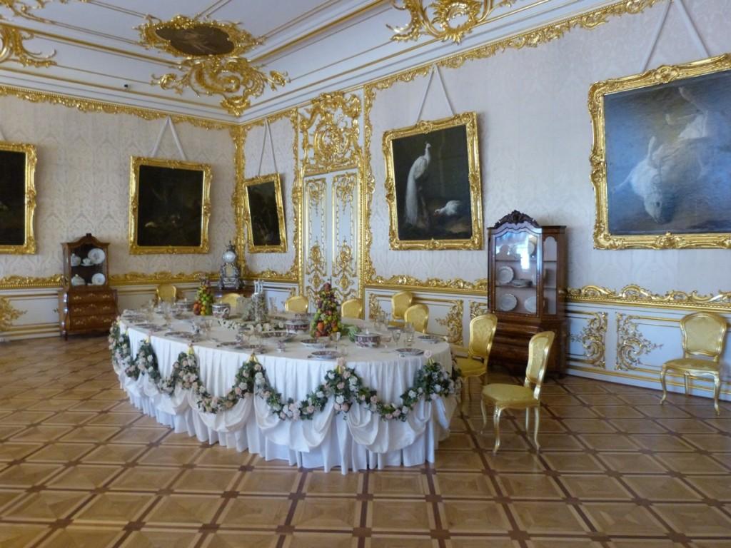 Comedor del Palacio de Catalina