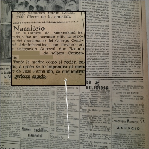 Natalicio en Diario de África