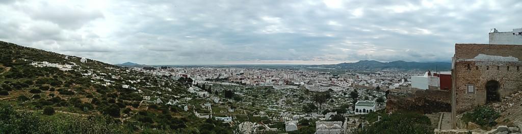 Vistas del Cementerio de Tetuán