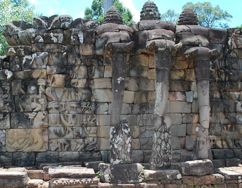 Terraza de los Elefantes - Angkor