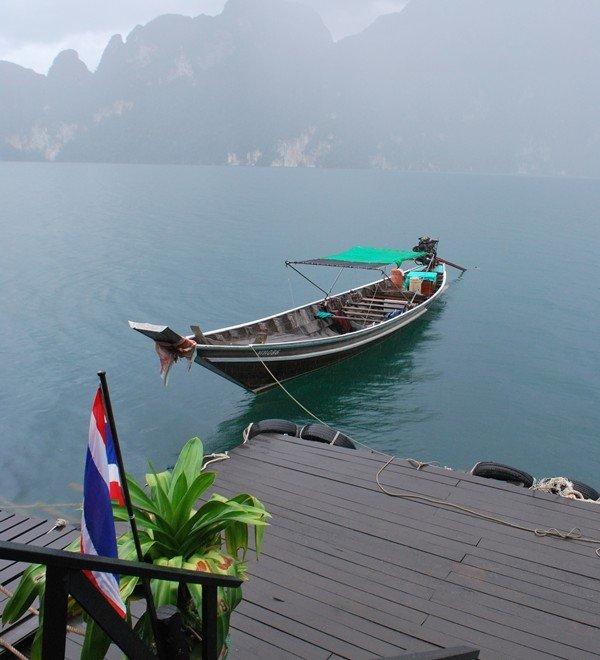 El lago Chiew Lan: naturaleza y paz en estado puro