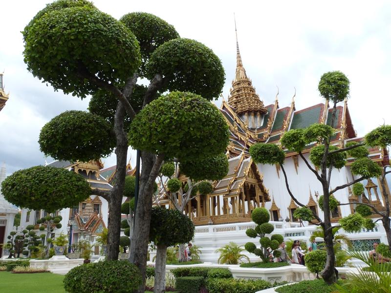 Palacio Real de Bangkok (Tailandia)