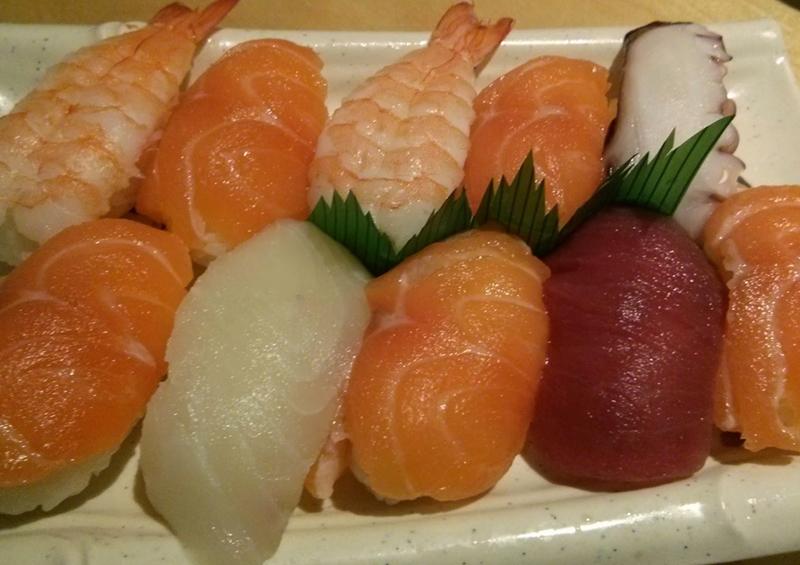 Sushi variado - Mashita