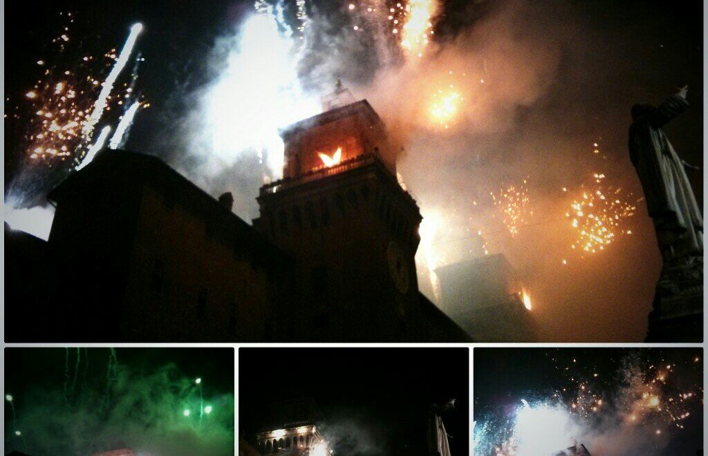 Días mágicos en Ferrara entre adoquines e incendios