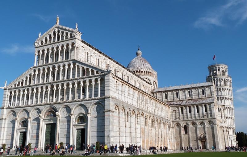 Catedral, Baptisterio y Torre de Pisa