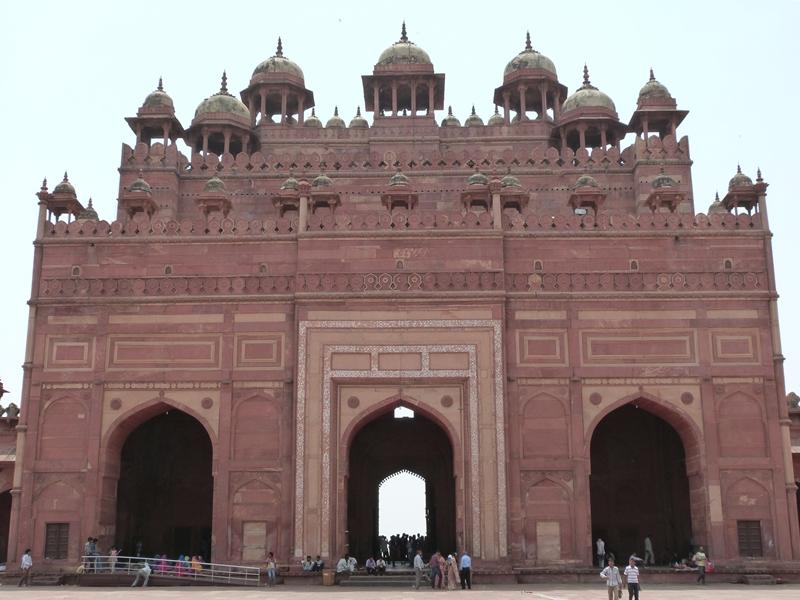 Buland Darwaza desde el interior - Fatehpur Sikri
