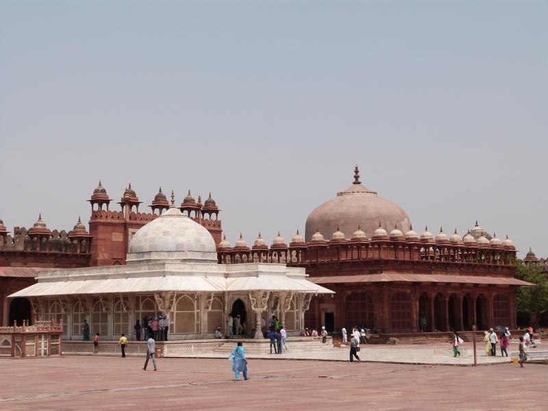 Patio central de Fatehpur Sikri