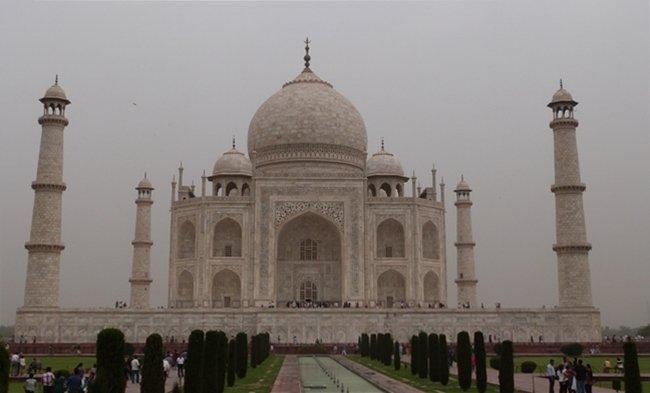 Taj Mahal en todo su esplendor