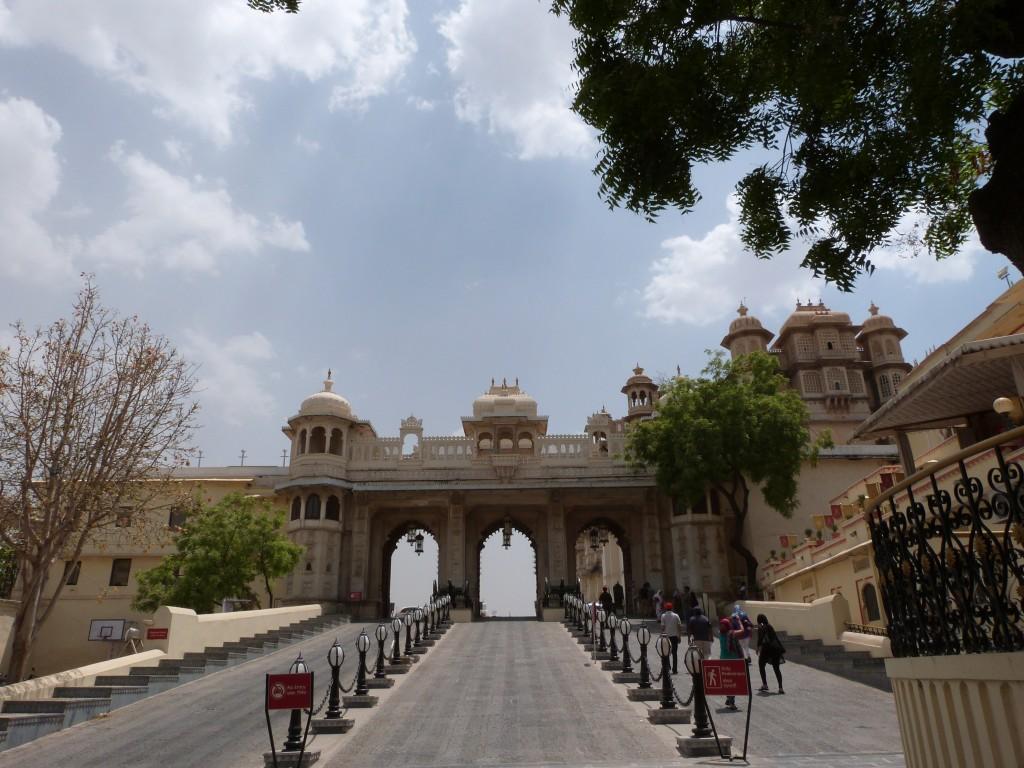 Entrada al City Palace - Udaipur
