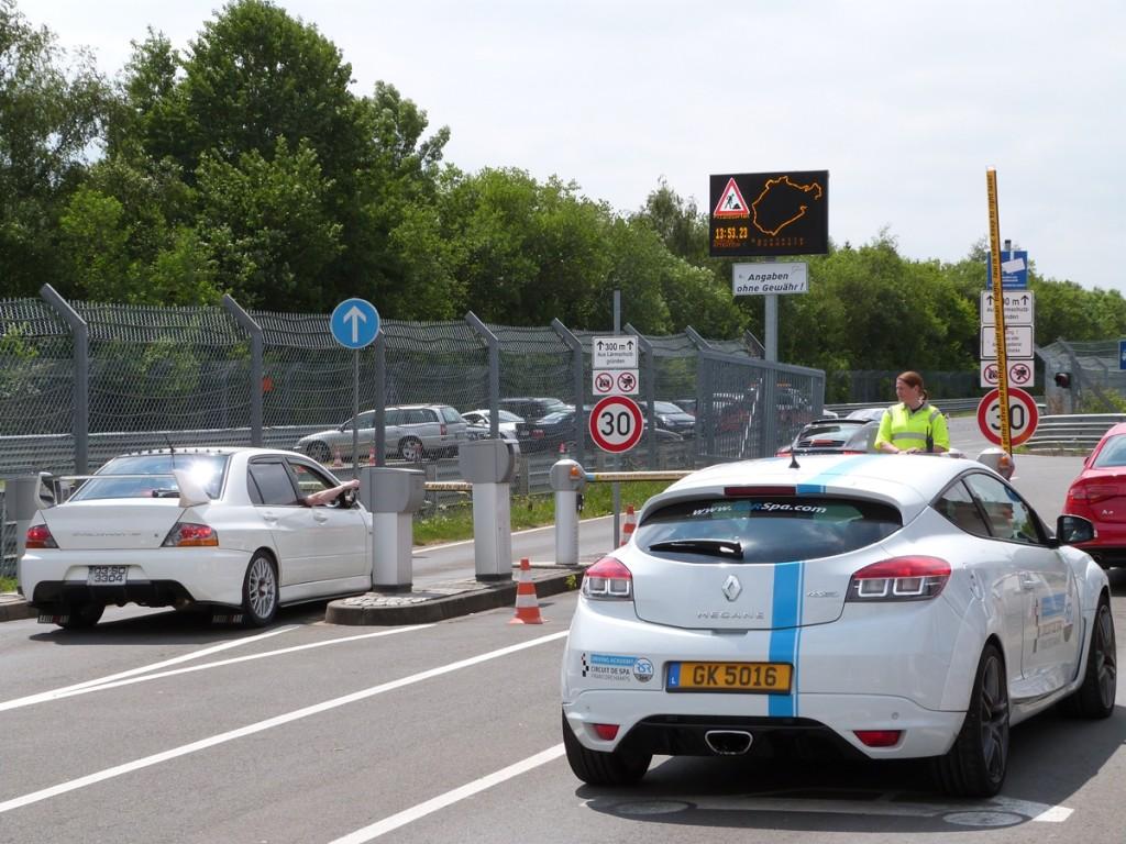 Entrada al circuito de Nürburgring