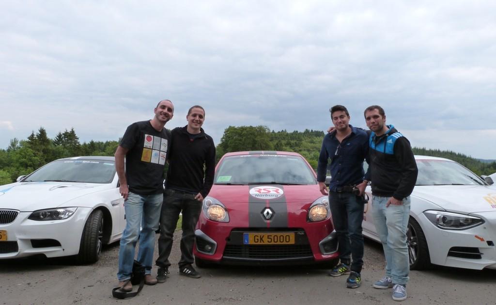 Los 4 valientes de Nurburgring