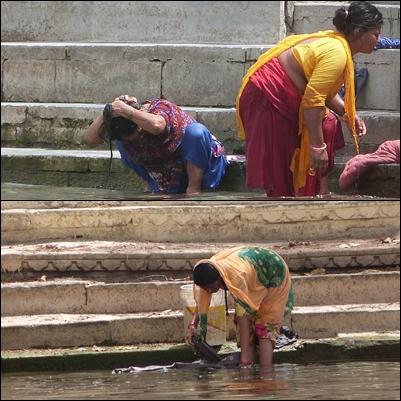 Mujeres en el lago pichola - Udaipur