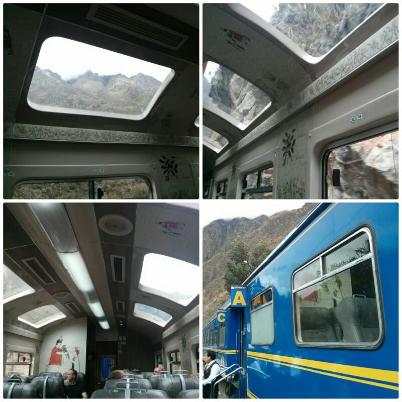Tren Peru Rail hacia Machu Picchu