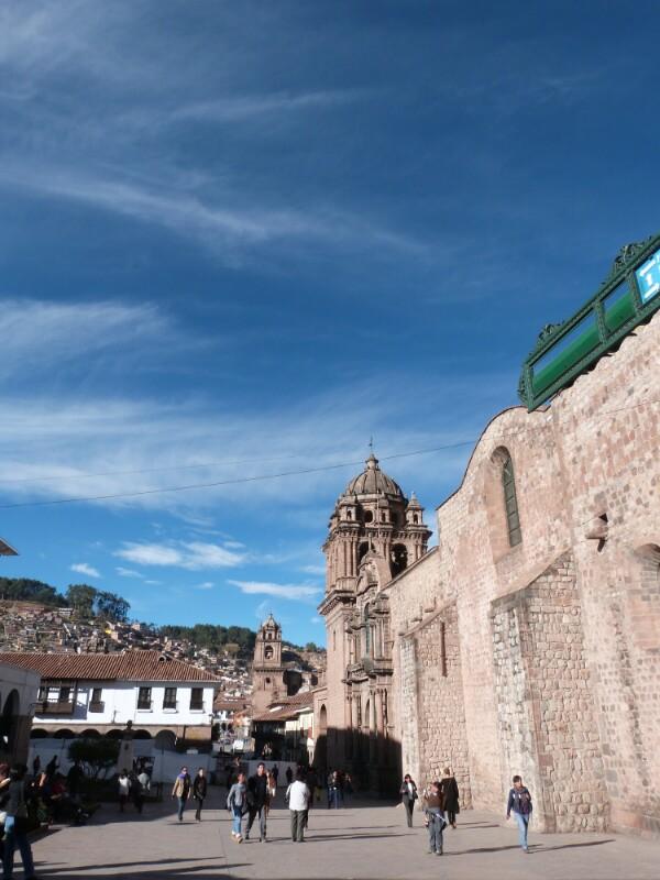 Una tarde cualquiera en Cuzco