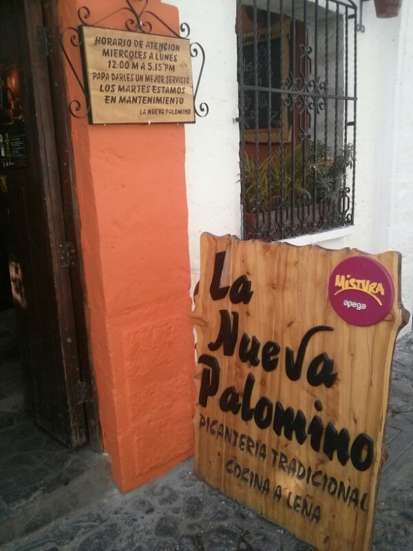 La nueva palomino - Arequipa