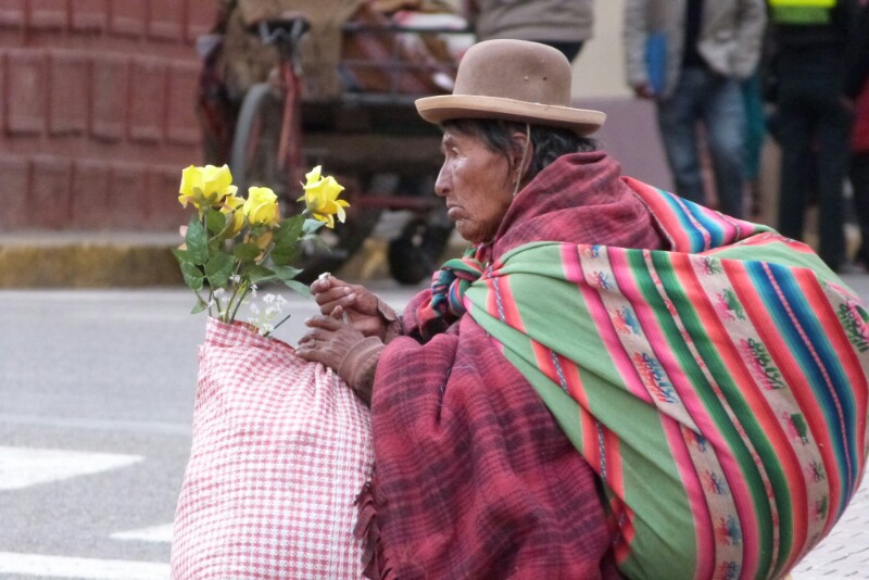 Miradas perdidas en Puno