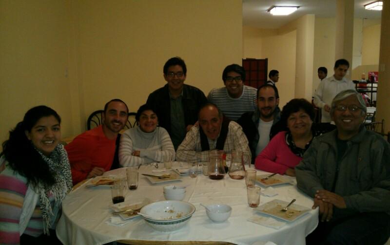 Nuestra familia en Lima