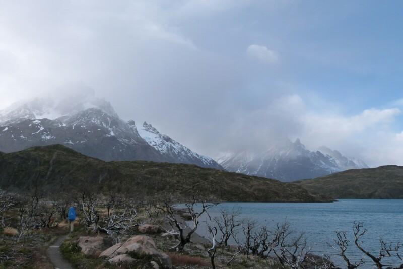 La ruta del primer día en Torres del Paine