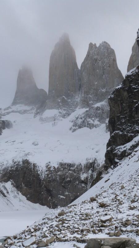 Las Torres del Paine en todo su esplendor