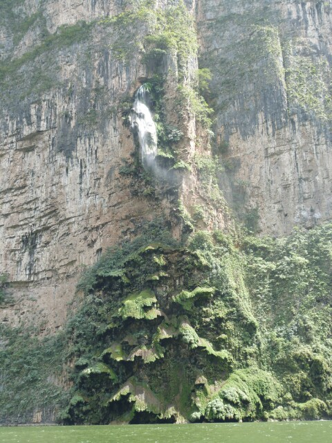 Detalles del Cañón del Sumidero
