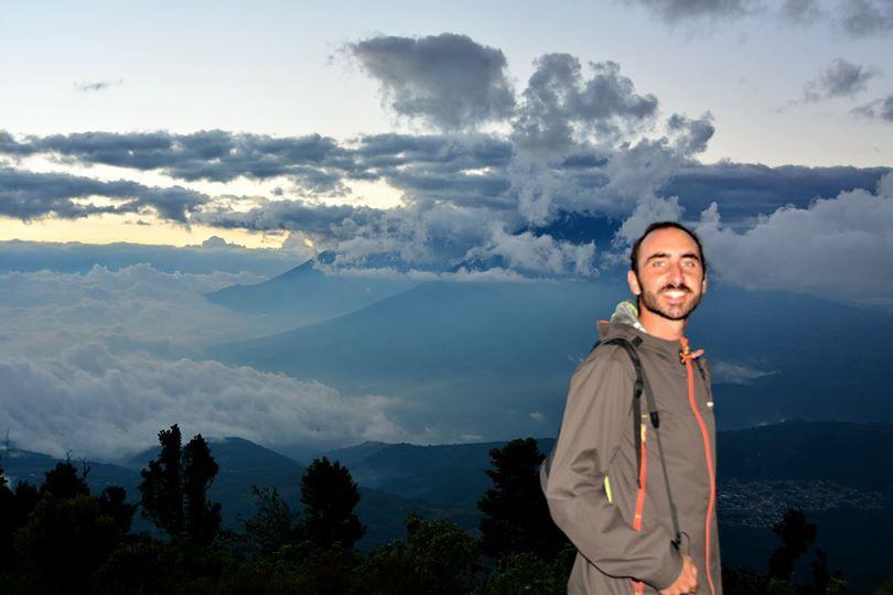 En la cima del volcán Pacayá