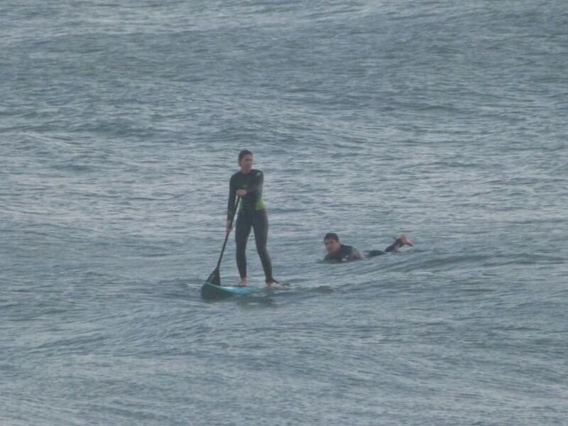 La chica del paddle surf