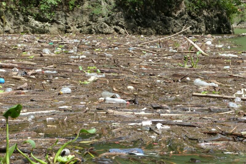 La triste basura del cañón