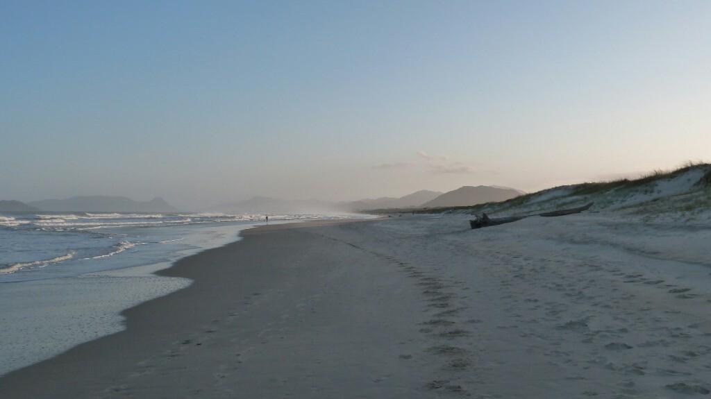 Playa de la Joaquina en estado puro