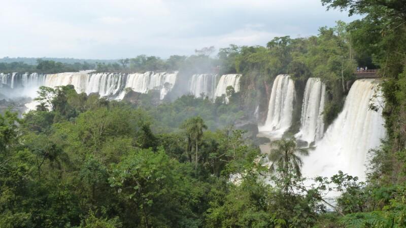 Herradura de saltos en Iguazú