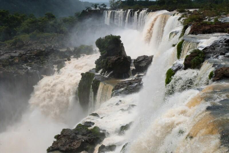 La fuerza del agua en Iguazú