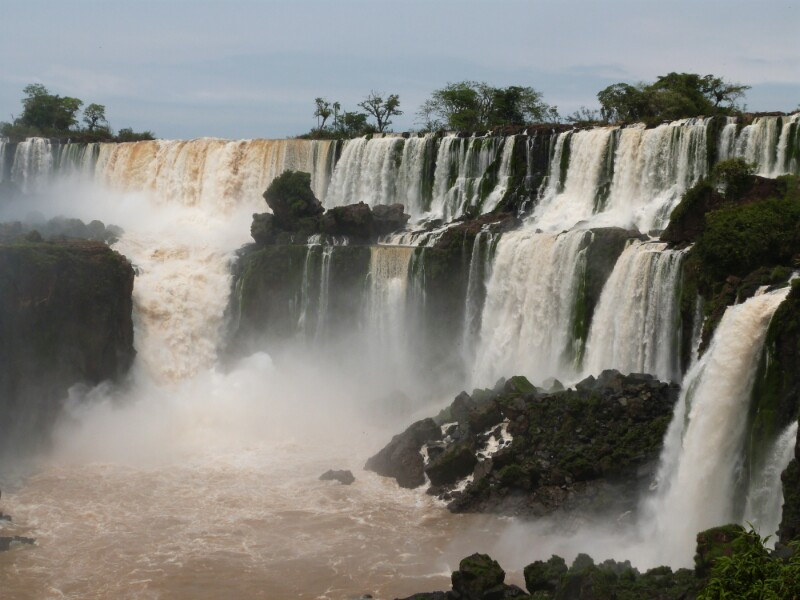 Postal desde Iguazú