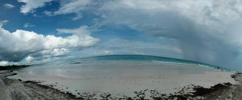 Una playa de Tulum