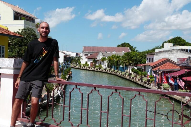 Disfrutando del encanto de Melaka