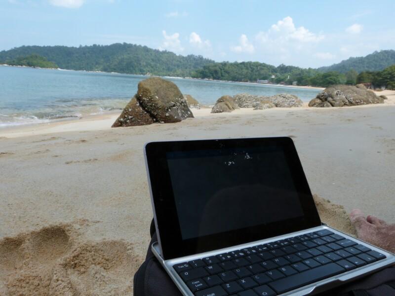 Mi oficina en Pulau Pangkor