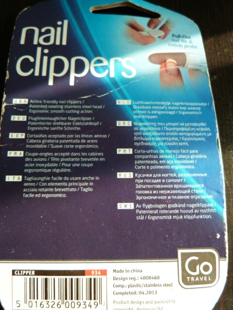 Nail Clippers - Cortauñas de mano