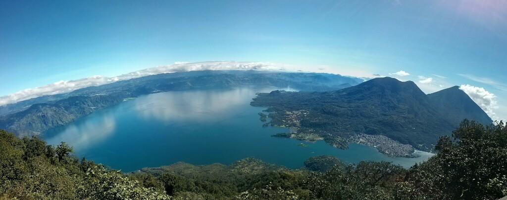 Panorámica desde el volcán San Pedro